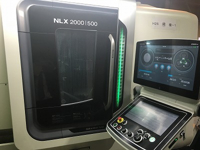 複合旋盤加工機(森精機:NLX-2000)