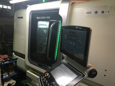 複合加工機(NLX2000)の外観